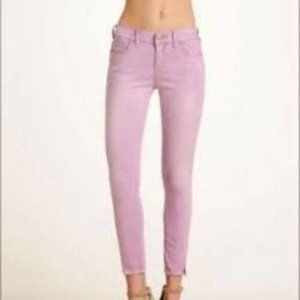 Free People |  Lilac cropped Jeans NWT size. 28